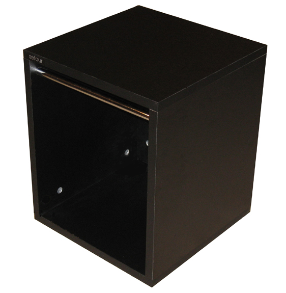 Sefour Vinyl Record Storage Box (Black) (VC030-901) at Sears.com
