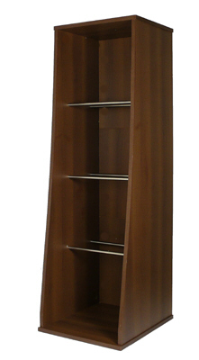 Sefour Vinyl Record Storage Unit Tobacco Walnut (RS300-909) at Sears.com
