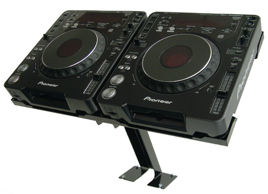 UNIVERSAL DJ CD PLAYER STAND
