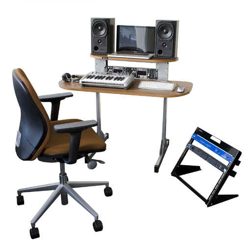 X15 CHAIR LR100 SET UP 1 WL Studio Gear Rack