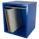 VINYL RECORD CARRY BOX  VC030-904 BASS BLUE