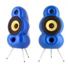 SCANDYNA MINIPOD SPEAKERS (BLUE) - PAIR