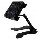 THE CRANE STAND- LAPTOP OR CD PLAYER- (UP TO 44CM 17 2/8 INCH  WIDE) CR030-901 - BLACK