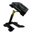 THE CRANE STAND- LAPTOP OR CD PLAYER (UP TO 65CM  25 3/4 IN WIDE) CR040-907 - BLACK AND 'CRANE' YELLOW